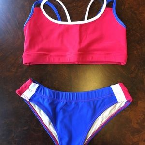Other - Designer sports bra and matching bottoms